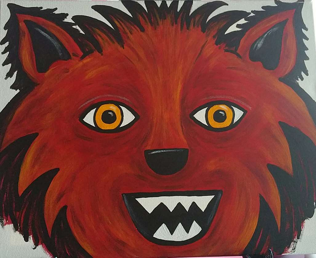 Kid's Red Wolf