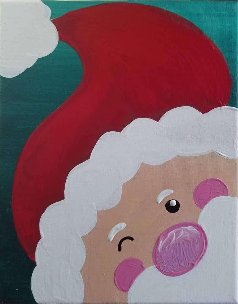 Kids Santa Painting