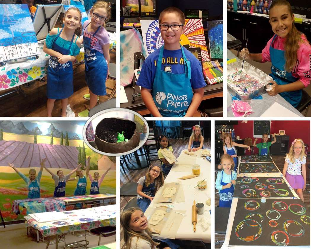 Daily Morning Drop-In Art Camp - Colors of the Rainbow Themes
