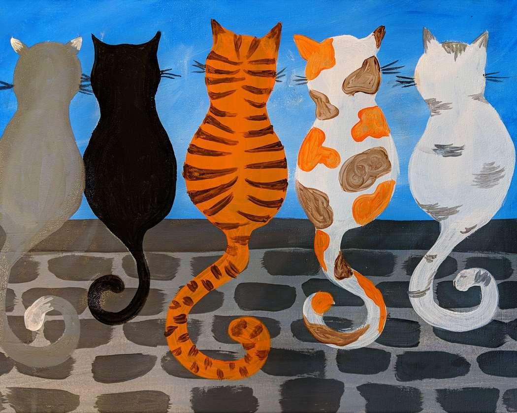 Kittens Sittin