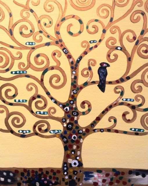 Klimt's Tree of Life