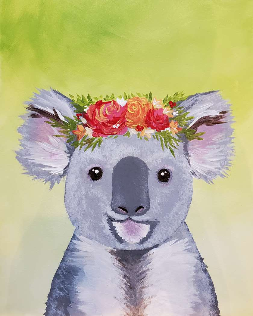IN STUDIO CLASS: KOALA CUTIE - LIMITED SEATING