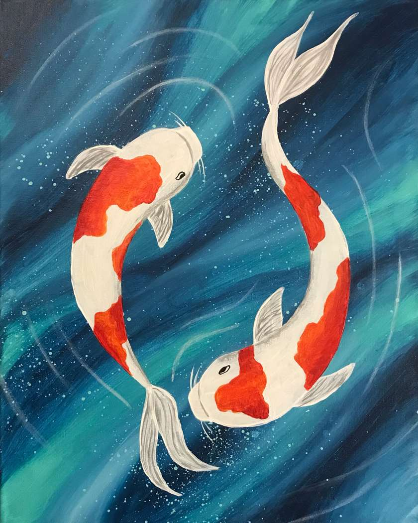 Live Virtual Event from San Bruno: Koi Serenity