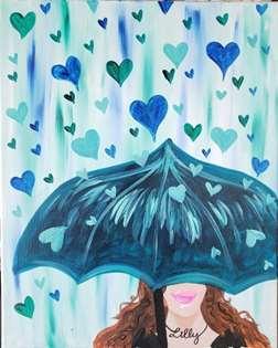 Lady in the Rain