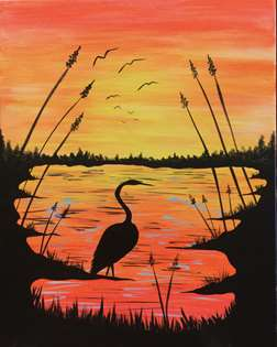 Lake Heron