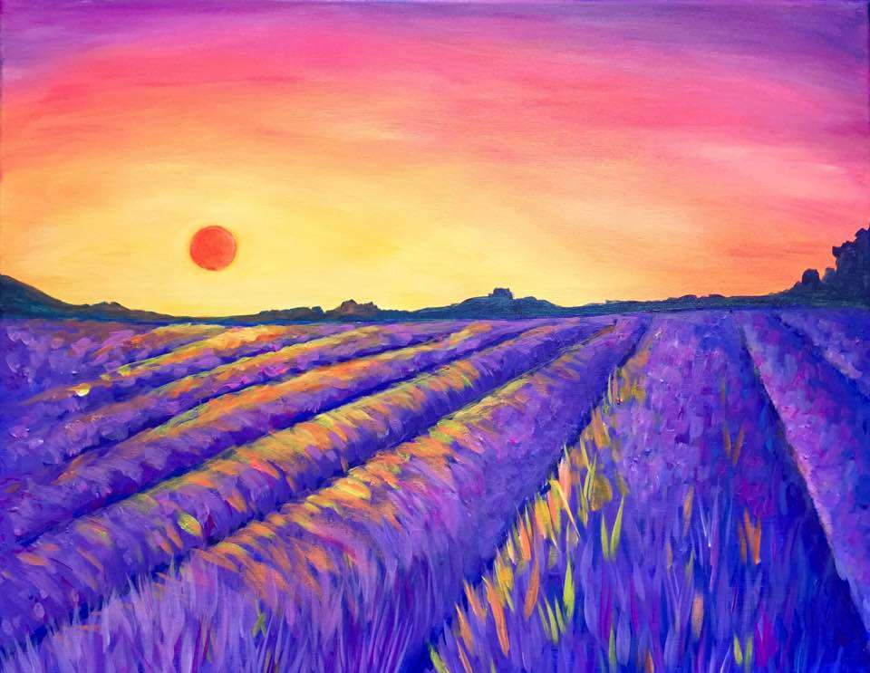 Lavender Glow
