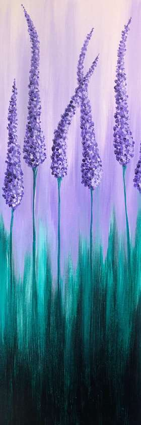 Lavender Wave - In Studio Event - Limited Seating Available