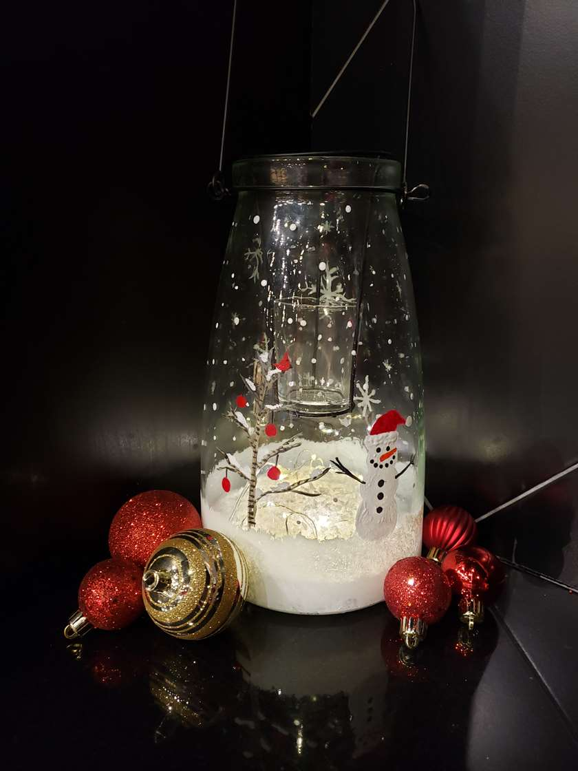 Let It Glow-Lantern With Lights