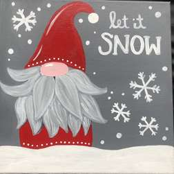 Let it Snow Gnome