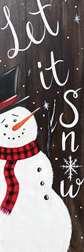 Let it Snow, Let it Snow, Let it Snow (canvas)