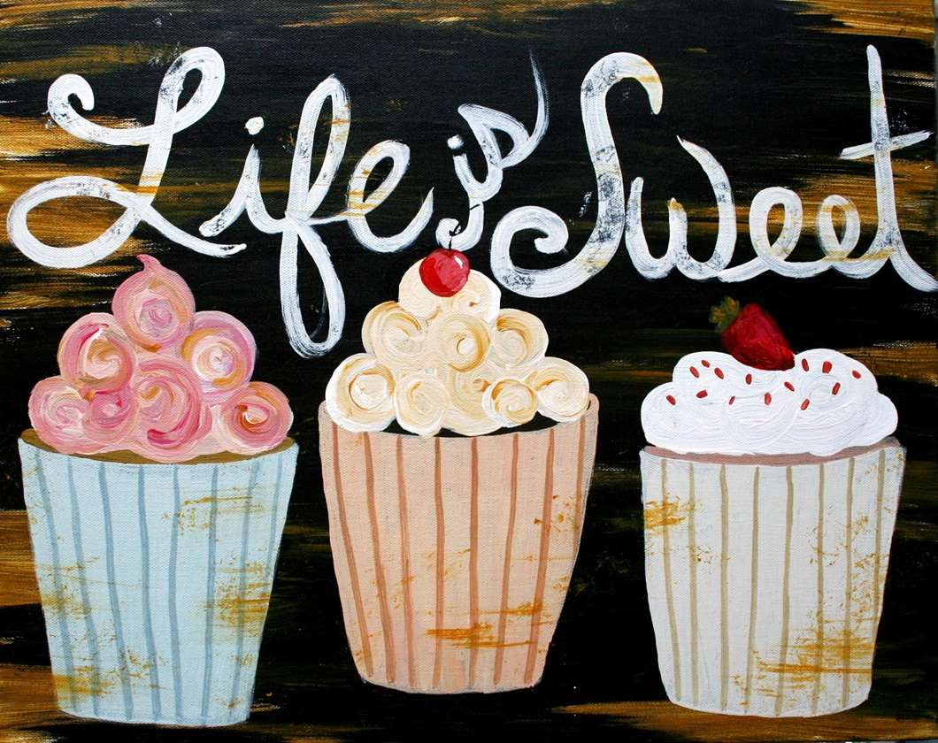 Life is Sweet - In Studio Event - Limited Seating Available