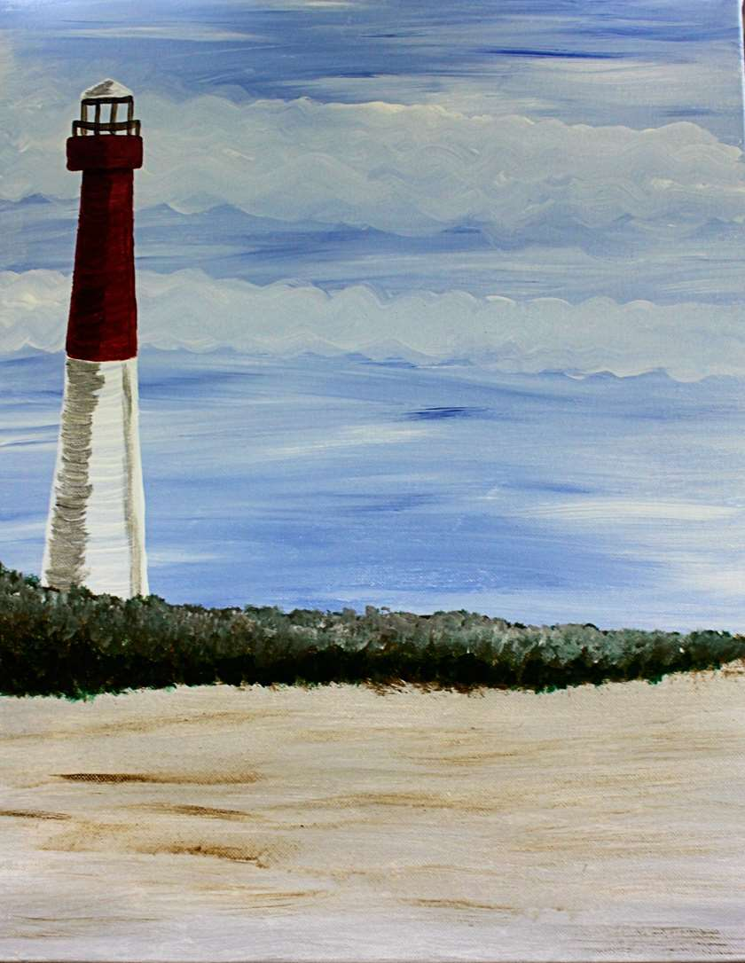 Lighthouse Morning