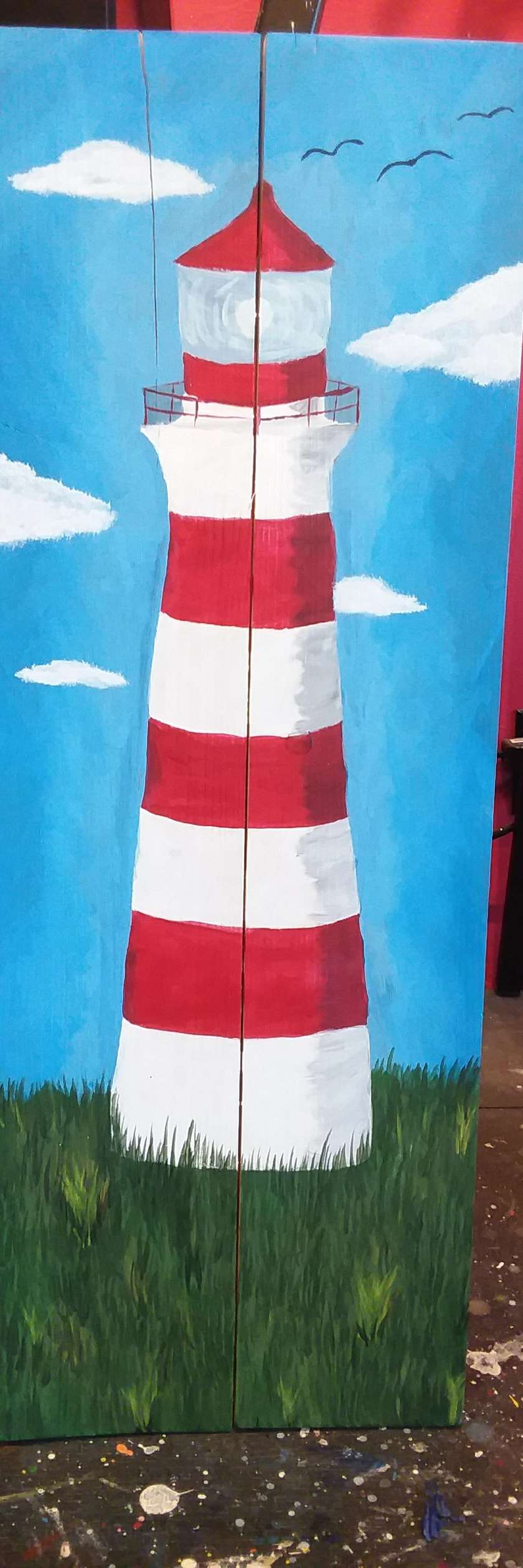 Lighthouse on Palette
