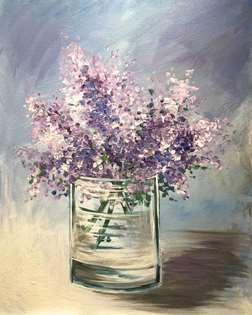 Lilacs in a Glass