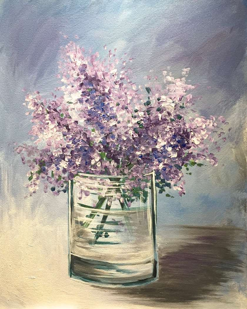 $29 Tuesdays Lilacs in a Glass