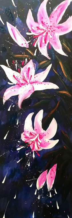 Lilies at Midnight