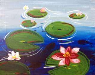 Lilypads In Bloom