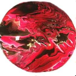 Liquid Acrylic Pour Record