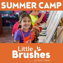 Little Brushes: 5-Day Virtual Summer  Art Camp (Ages 6-12)