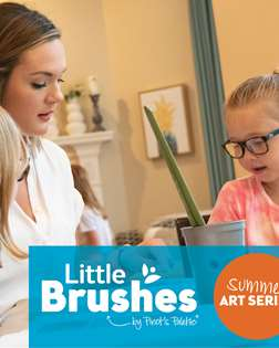Little Brushes: Kids Camp LR (Ages 6-12)