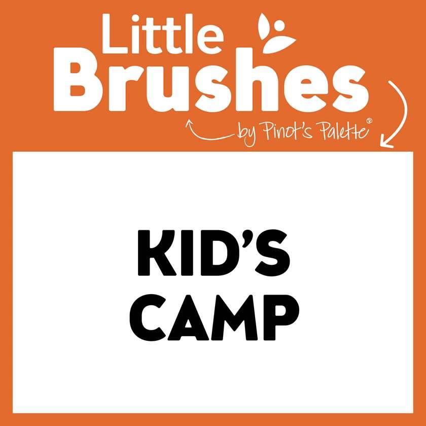 Kids Art Camp:  Monday thru Friday, 1:00-3:30 PM