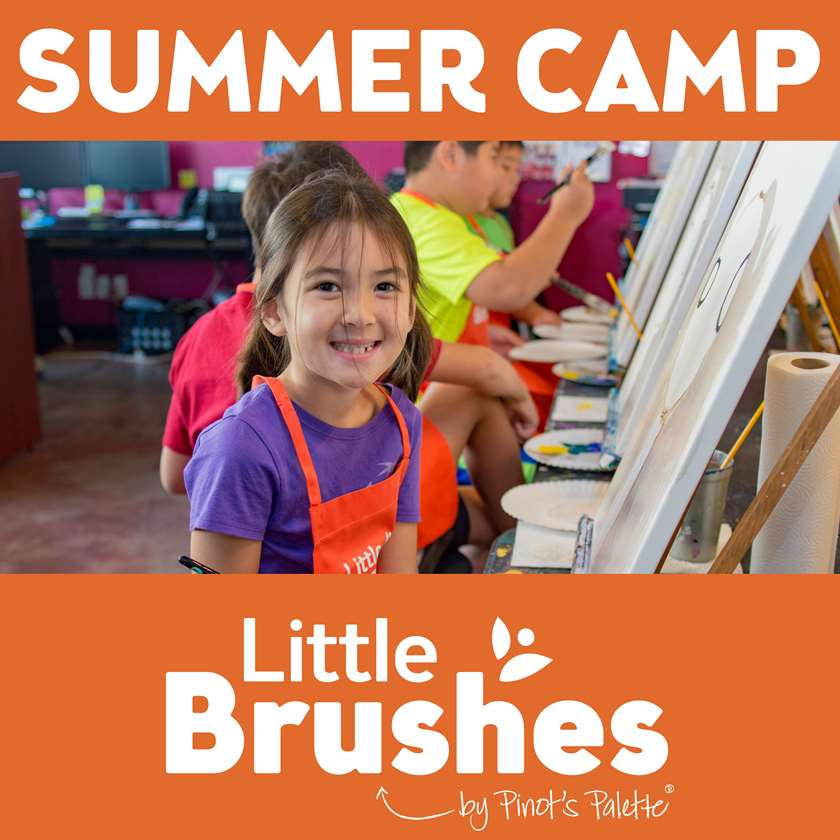 Little Brushes Summer Camp! In Studio