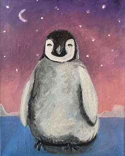 Little Happy Penguin