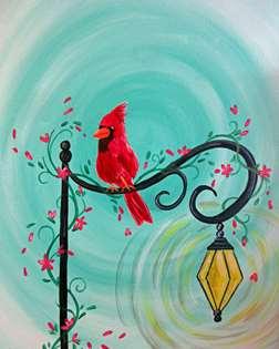 Little Red Songbird