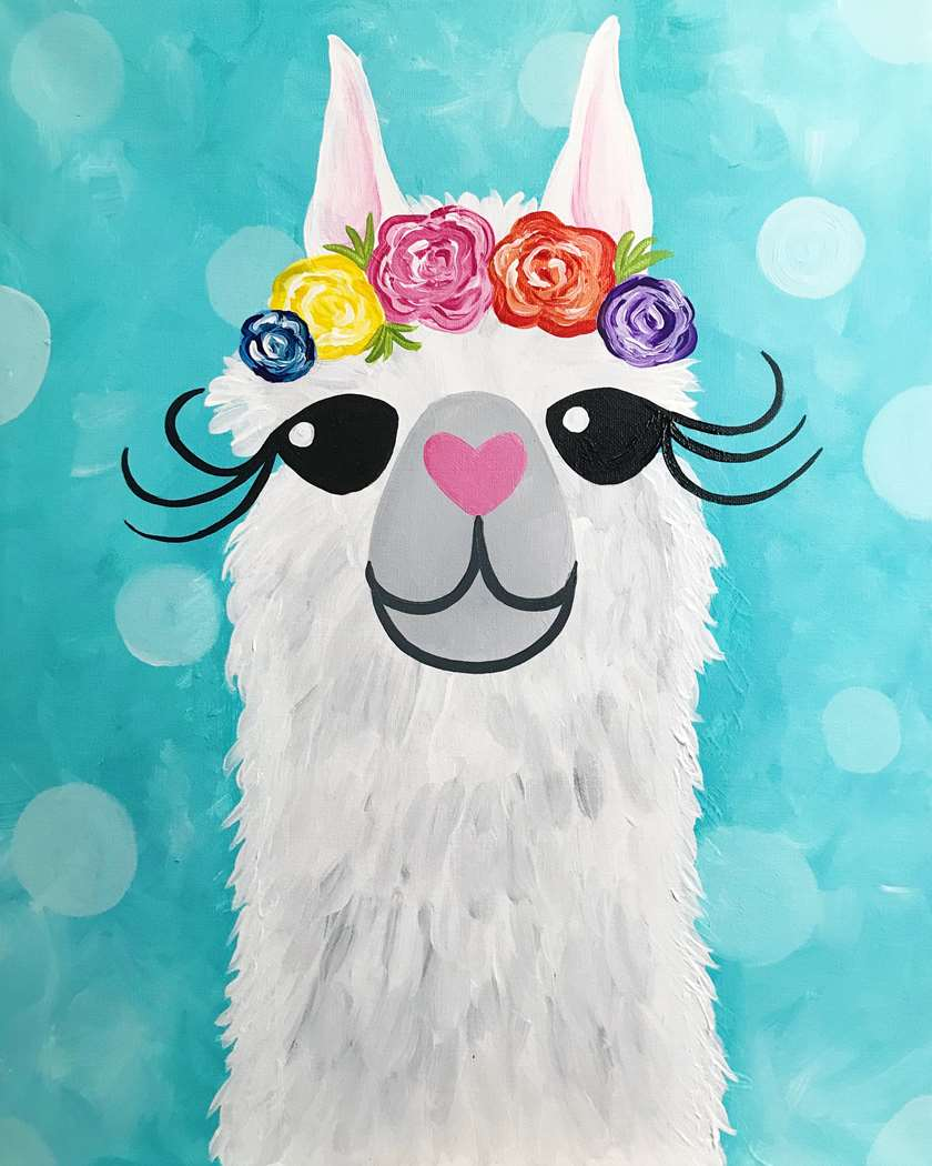 Family Day - ages 5 and up welcome! Everyone needs a reservation for Llama-Rama!