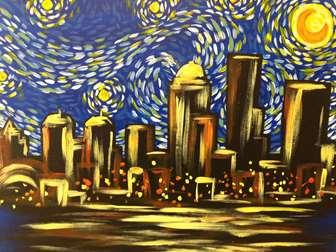 Louisville's Starry Night