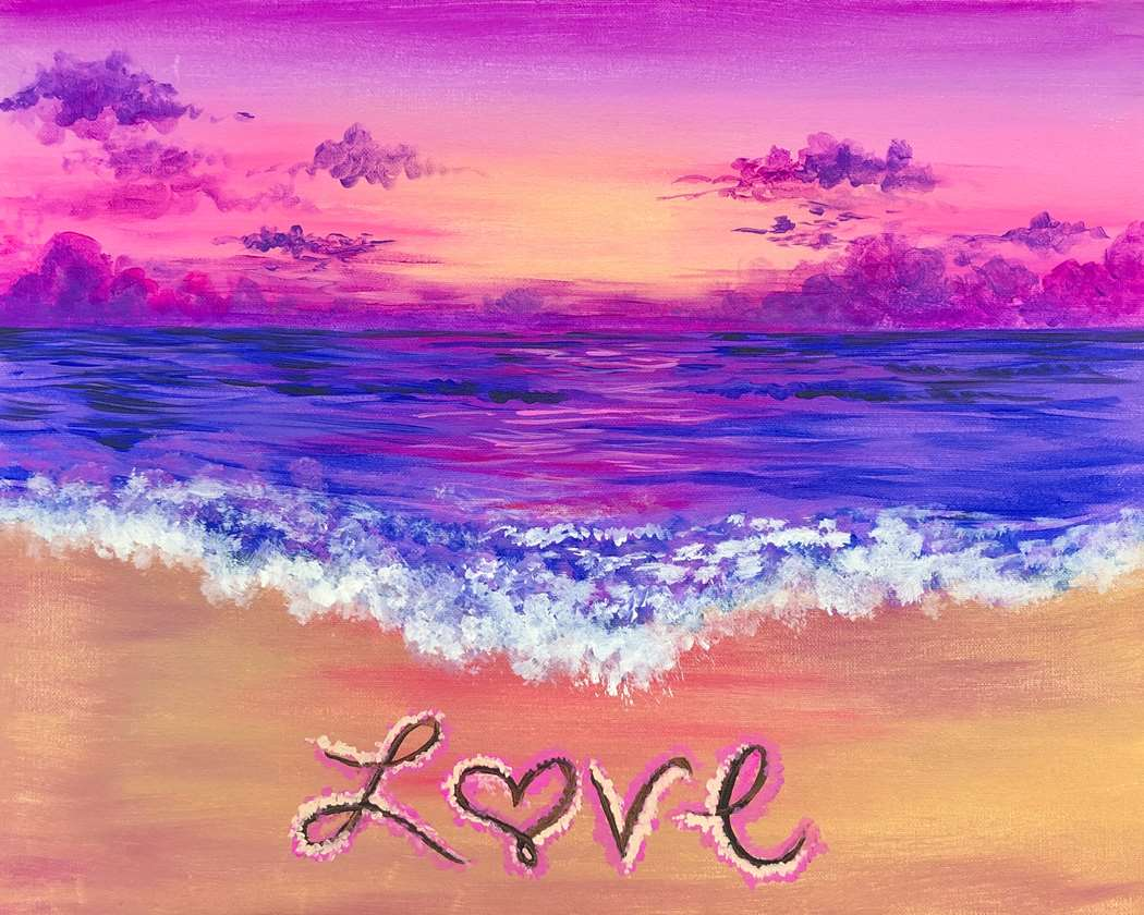 Love at the Beach - In Studio Event - Limited Seating Available