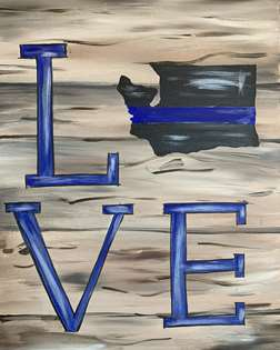 Love For The Thin Blue Line