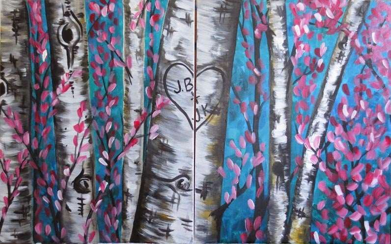 DATE NIGHT-LOVE IS IN THE TREES