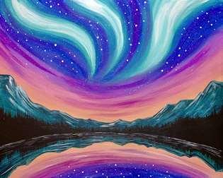 Magical Aurora Sky