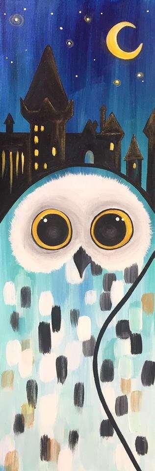 Magical Snowy Owl