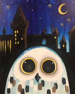 Magical Snowy Owl Eyes