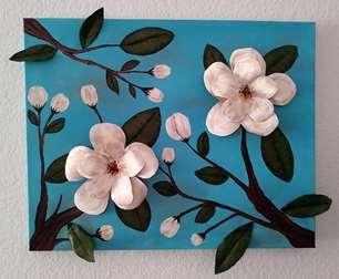 Magnolias 3-D