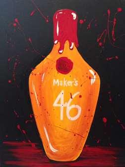 Makers Mark 46 Bourbon Barrel Head