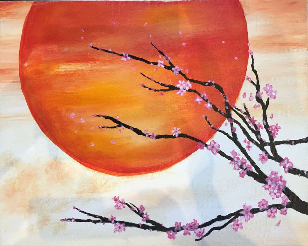 Mandarin Sunset - In Studio Event - Limited Seating Available