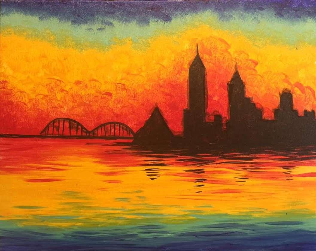Memphis Monet Sunrise