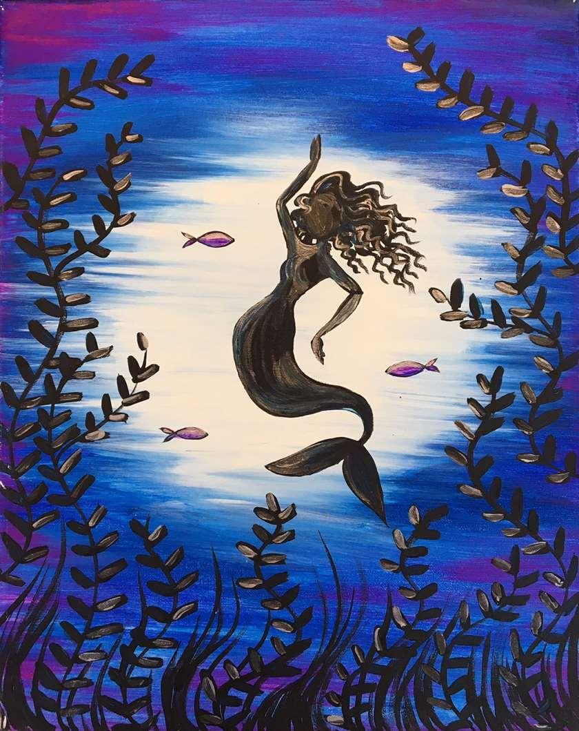 Mermaid By Moonlight