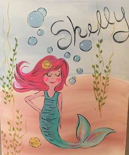 Mermaid Shelly