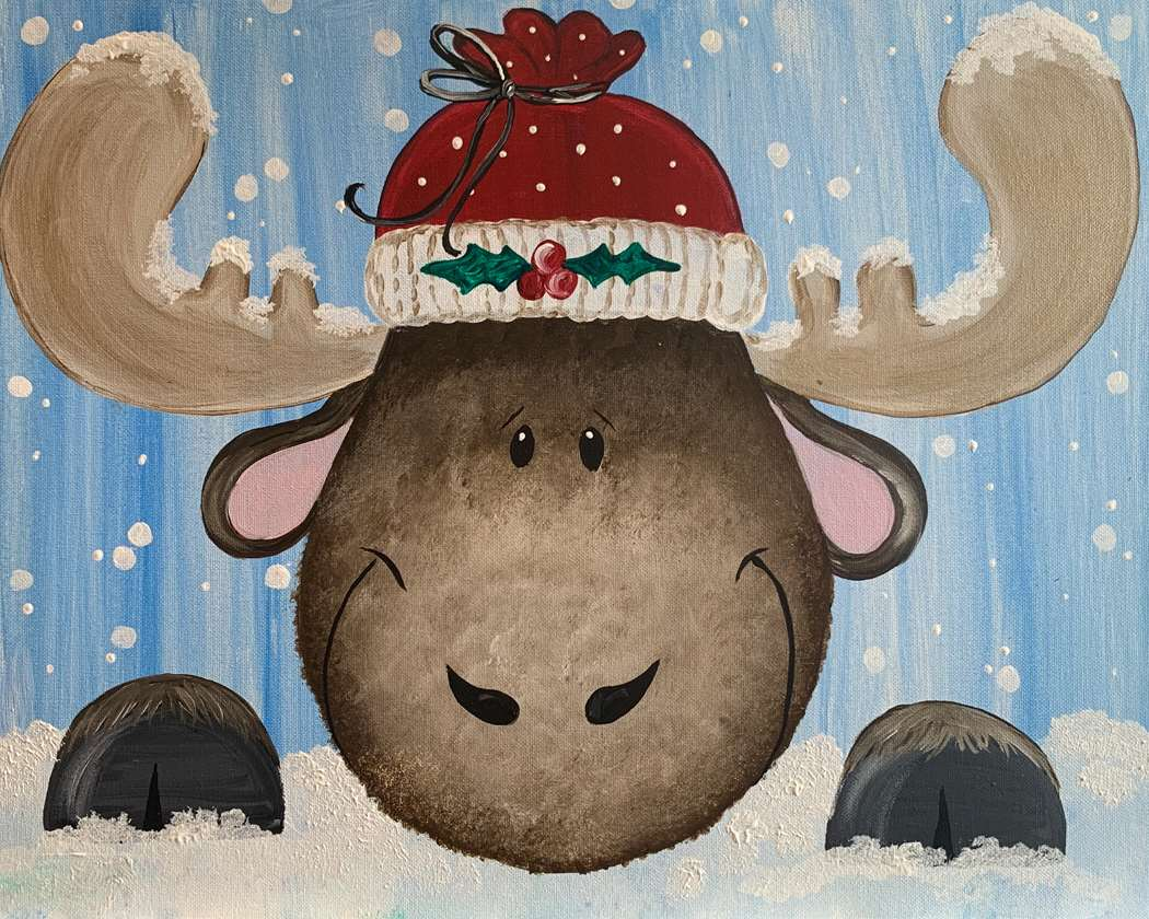 Merry Christmoose All Ages - In Studio Event - Limited Seating Available