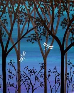 Midnight Dragonflies