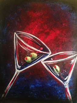 Midnight Martini