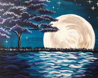 Midnight Moon Glow