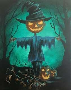 Midnight Scarecrow