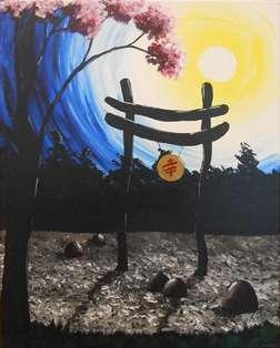 Midnight Zen Garden