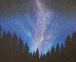 Milky Way Forest