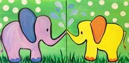 Mini - Elephant Love